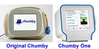 chumby side by side